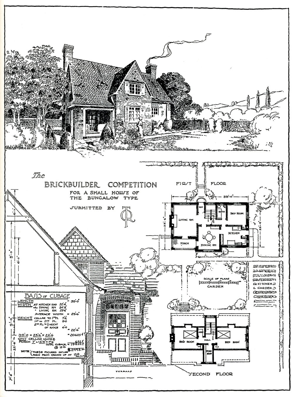 August 2011 forever design for 18th century house plans